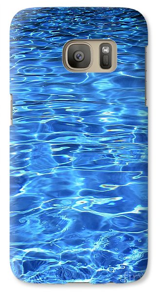 Galaxy Case featuring the photograph Water Shadows by Ramona Matei