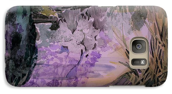 Galaxy Case featuring the painting Water Sprite by Mindy Newman