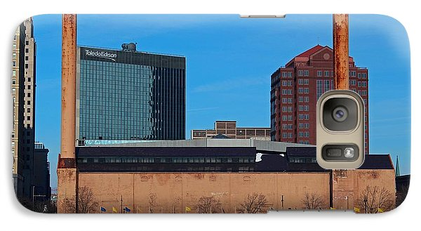 Galaxy Case featuring the photograph Water Street Steam Plant In Winter by Michiale Schneider