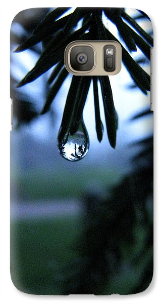 Galaxy Case featuring the photograph Water Whisper by Misha Bean