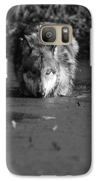 Galaxy Case featuring the photograph Water Wolf I by Shari Jardina