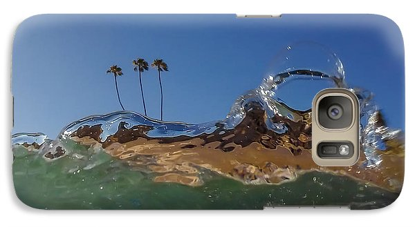 Galaxy Case featuring the photograph Water Works by Sean Foster