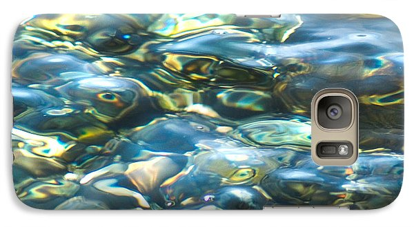 Galaxy Case featuring the photograph Water World, Square by Yulia Kazansky
