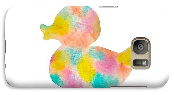 Watercolor Baby Duck Galaxy S7 Case