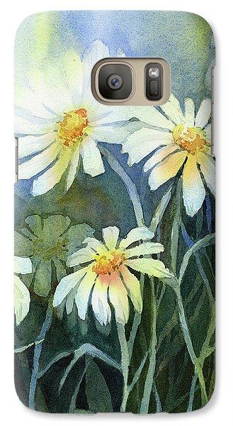 Daisy Galaxy S7 Case - Daisies Flowers  by Olga Shvartsur