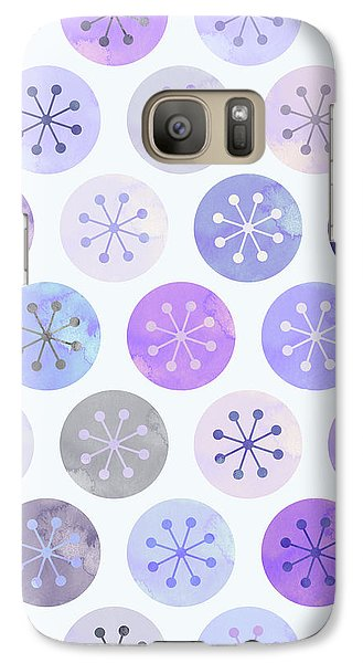 Watercolor Lovely Pattern II Galaxy Case by Amir Faysal