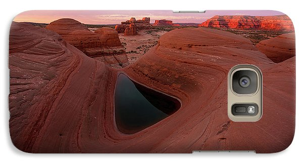 Galaxy Case featuring the photograph Watercolor Morning by Dustin LeFevre