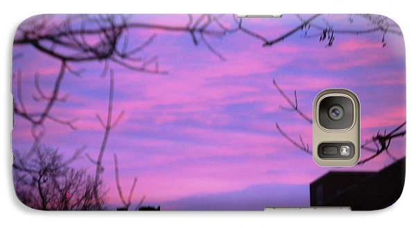 Galaxy Case featuring the photograph Watercolor Sky by Sumoflam Photography