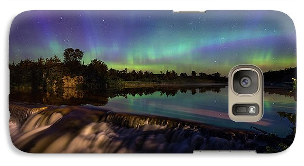 Galaxy Case featuring the photograph Watercolors by Aaron J Groen