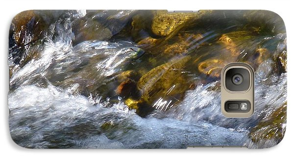 Galaxy Case featuring the photograph Watercourse by Jean Bernard Roussilhe