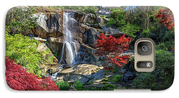 Galaxy Case featuring the photograph Waterfall At Maymont by Rick Berk