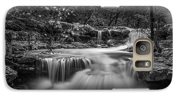 Waterfall In Austin Texas - Square Galaxy S7 Case