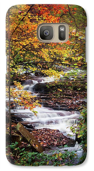 Galaxy Case featuring the photograph Waterfall Kaleidoscope  by Parker Cunningham