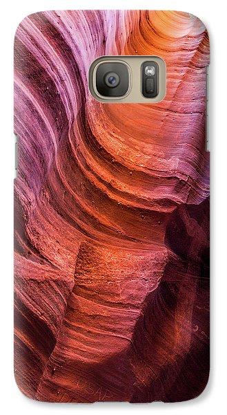 Waterholes Canyon Ribbon Candy Galaxy S7 Case