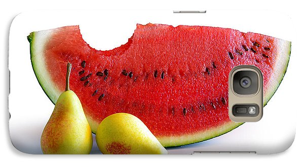 Watermelon And Pears Galaxy S7 Case by Carlos Caetano