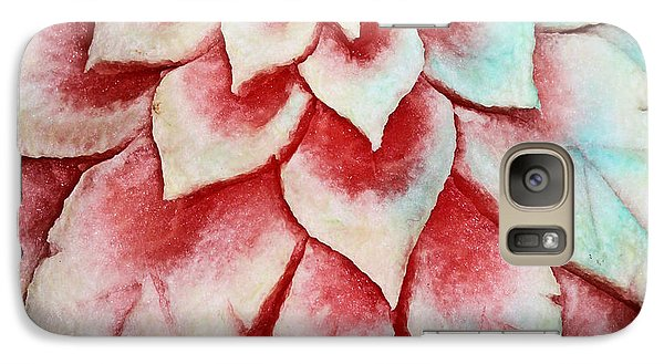 Galaxy Case featuring the photograph Watermelon Carving by Kristin Elmquist