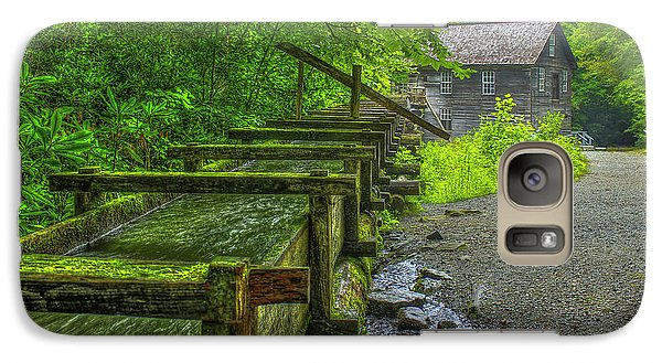 Galaxy Case featuring the photograph Waterworks Mingus Mill Mingus Creek Art  Great Smoky Mountains Art by Reid Callaway