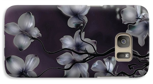 Galaxy Case featuring the painting Wave Japanese Art by Gray  Artus