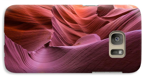 Waves-lower Antelope Canyon Galaxy S7 Case