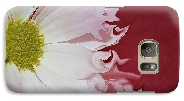 Galaxy Case featuring the photograph Waves Of White by Traci Cottingham