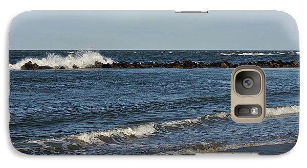 Galaxy Case featuring the photograph Waves by Sandy Keeton