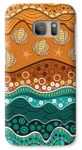 Waves Galaxy S7 Case