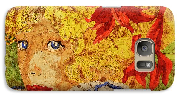 Galaxy Case featuring the painting Wax On Wax Off by Cynthia Powell