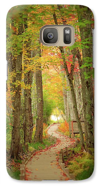 Galaxy Case featuring the photograph Way To Sieur De Monts  by Emmanuel Panagiotakis