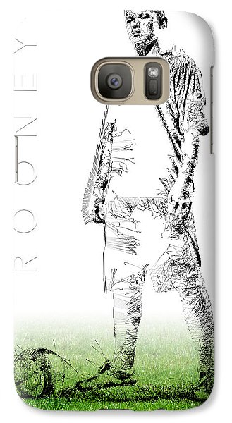 Wayne Rooney Galaxy S7 Case by ISAW Gallery