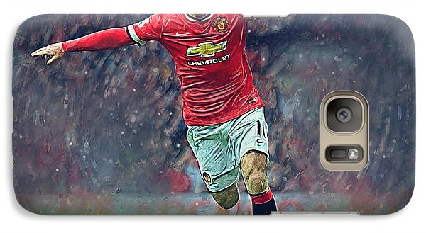 Wayne Rooney Galaxy Case by Semih Yurdabak