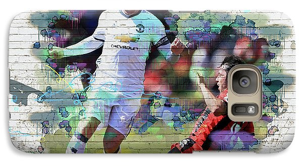 Wayne Rooney Street Art Galaxy S7 Case