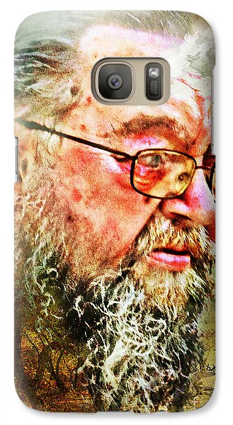 Galaxy Case featuring the digital art Wayward Son by Rhonda Strickland