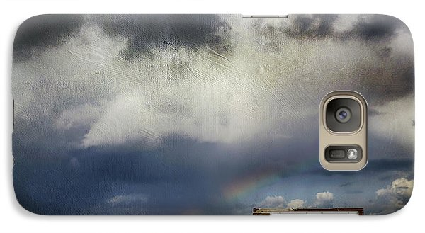 Galaxy Case featuring the photograph We All Need A Little Hope by Laurie Search