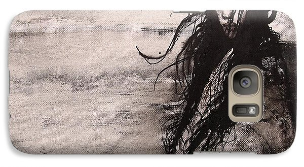 Galaxy Case featuring the painting We Dreamed Our Dreams by Jarmo Korhonen aka Jarko