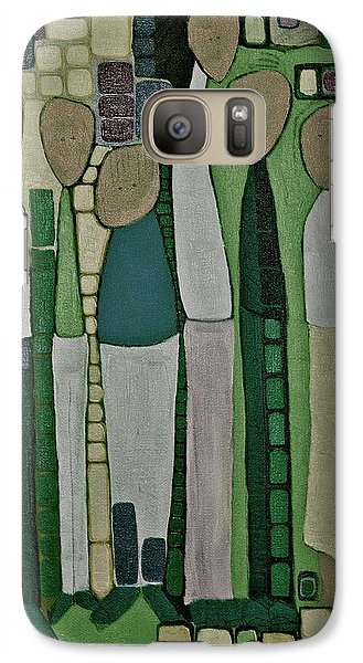 Galaxy Case featuring the painting We Miss You by Donna Howard