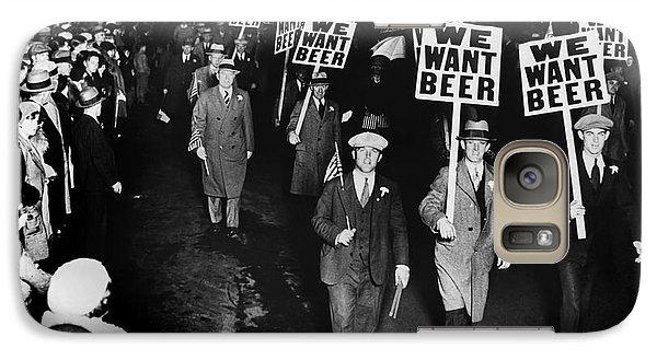 Beer Galaxy S7 Case - We Want Beer by Jon Neidert