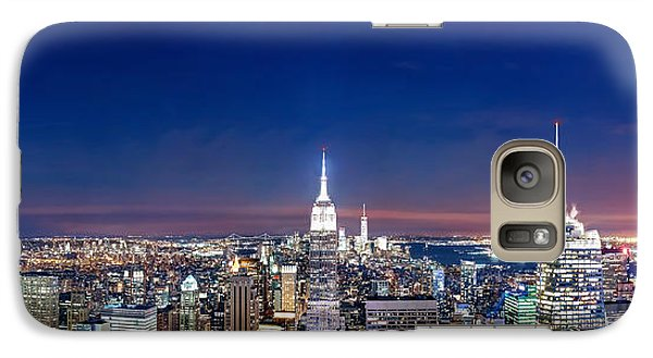 Chrysler Building Galaxy S7 Case - Wealth And Power by Az Jackson