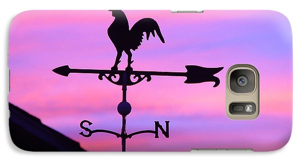 Galaxy Case featuring the digital art Weather Vane, Wendel's Cock by Jana Russon