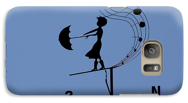 Weathergirl Galaxy S7 Case