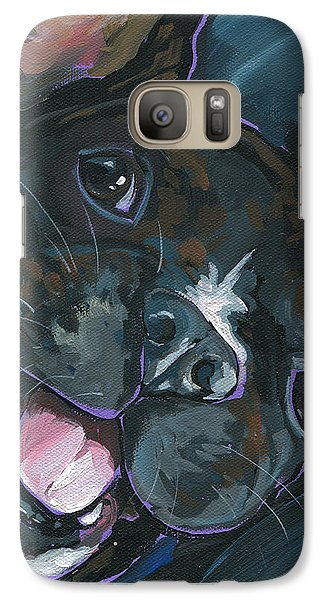 Galaxy Case featuring the painting Webster by Nadi Spencer