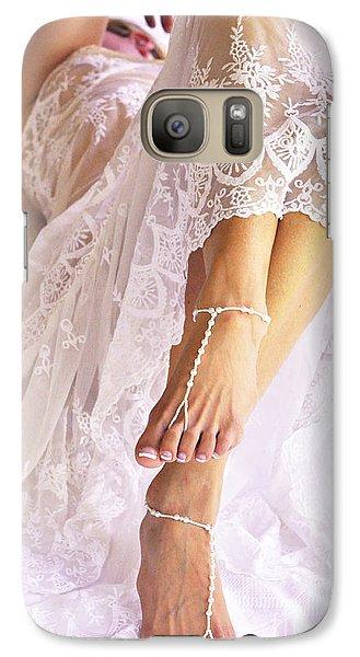 Galaxy Case featuring the photograph Wedding by Marat Essex