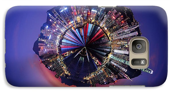 Wee Hong Kong Planet Galaxy S7 Case by Nikki Marie Smith