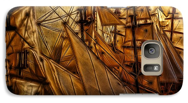 Galaxy Case featuring the photograph Wee Sails by Cameron Wood