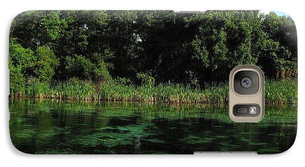 Galaxy Case featuring the photograph Weeki Wachee River by Barbara Bowen