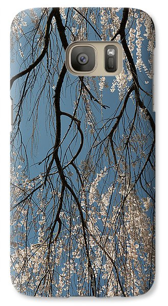 Galaxy Case featuring the photograph Weeping Cherry #2 by Dana Sohr