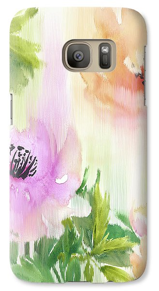 Galaxy Case featuring the painting Weeping Rose Forest by Colleen Taylor