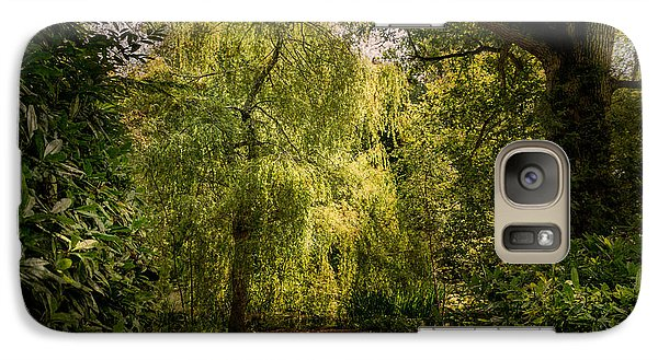 Galaxy Case featuring the photograph Weeping Willow by Ryan Photography