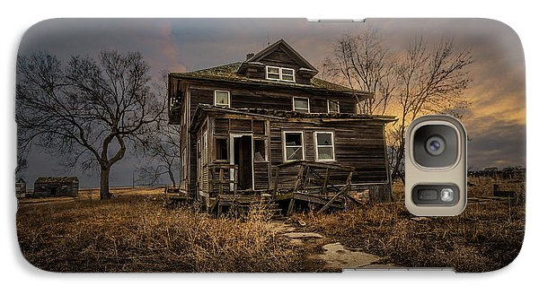Galaxy Case featuring the photograph Welcome Home by Aaron J Groen