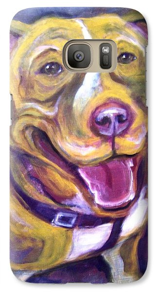 Galaxy Case featuring the painting Welcome Home by Laura Aceto