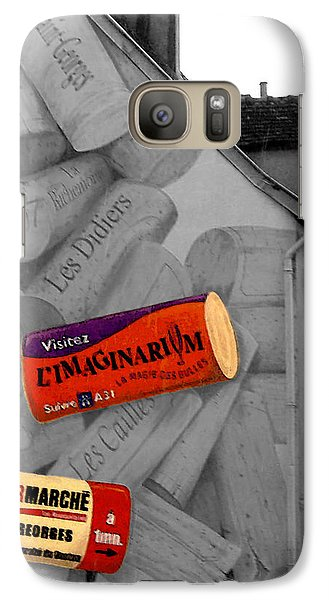 Galaxy Case featuring the photograph Welcome To Bordeaux by Joan  Minchak
